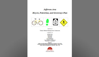 2004 Jefferson Area Bicycle, Pedestrian and Greenways Plan
